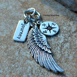 The Pathfinder Pendant - Journey, Compass, Wings