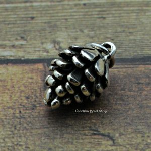 Pine Cone Pendant Sterling Silver - C093, Woodlands, Trees, Evergreen, Design Ideas Lets Get Creative