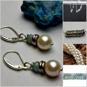pearl drop earring design ideas - Earring Design Ideas